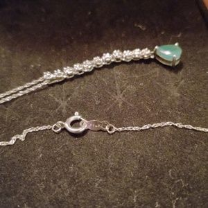 Jewelry - Natural Emerald Necklace